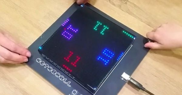 懐かしのレトロゲームが現代によみがえる——ピンポンゲーム機自作キット「RetroBall」