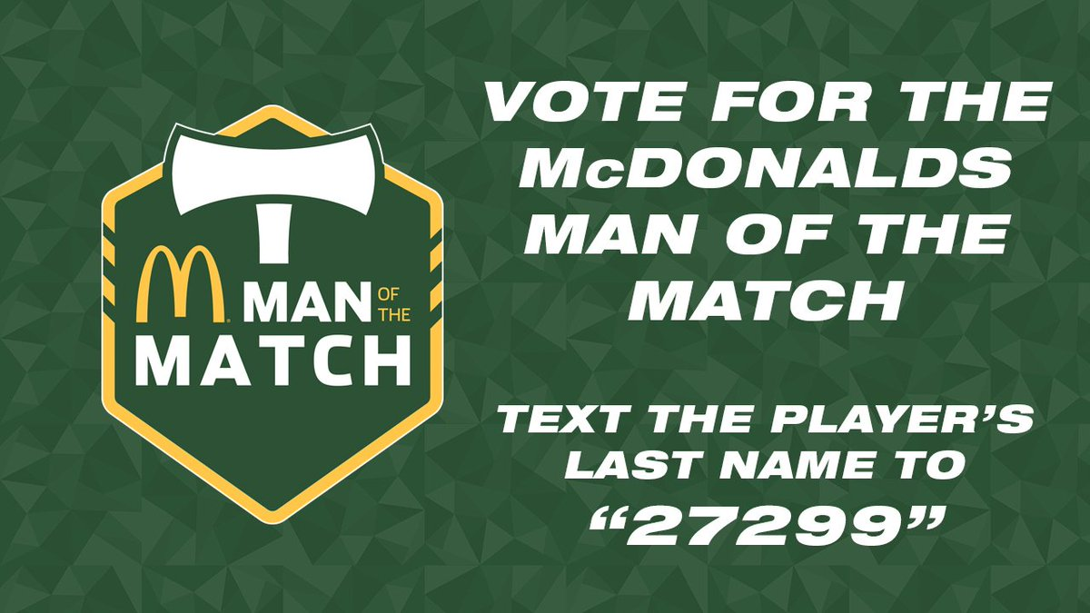 RT @TimbersFC: Don't forget to vote for your @McDonaldsNW Man of the Match for #VANvPOR. Here's how. #RCTID https://t.co/0NwvA3KkEu
