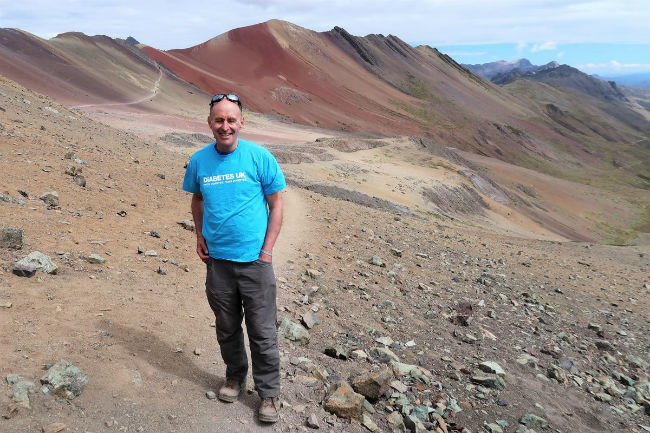 test Twitter Media - #UK's Peter Davies celebrated living with #type1 #diabetes for 60 years with a high altitude trek in #Peru. https://t.co/HqqLLWVeoT https://t.co/iZrZTcYHgG