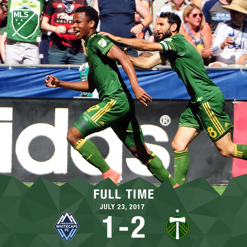 RT @TimbersFC: THREE POINTS ON THE ROAD! #RCTID #VANvPOR https://t.co/Gezy7uRoCm
