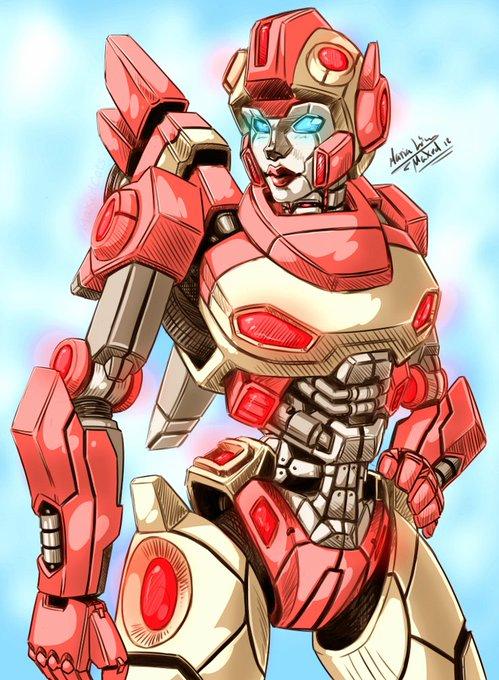 Arcee (Transformers War For Cybertron)  Happy Birthday Kari Wahlgren!!!