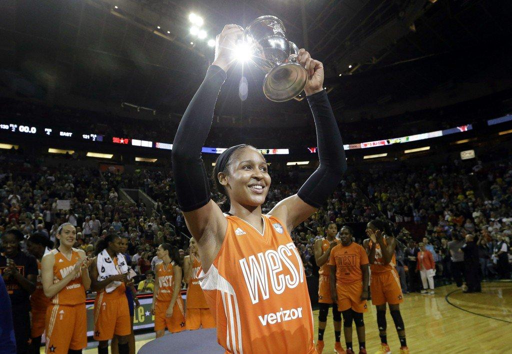 Maya Moore WNBA All-Star MVP Again, But Sue Bird Center Stage