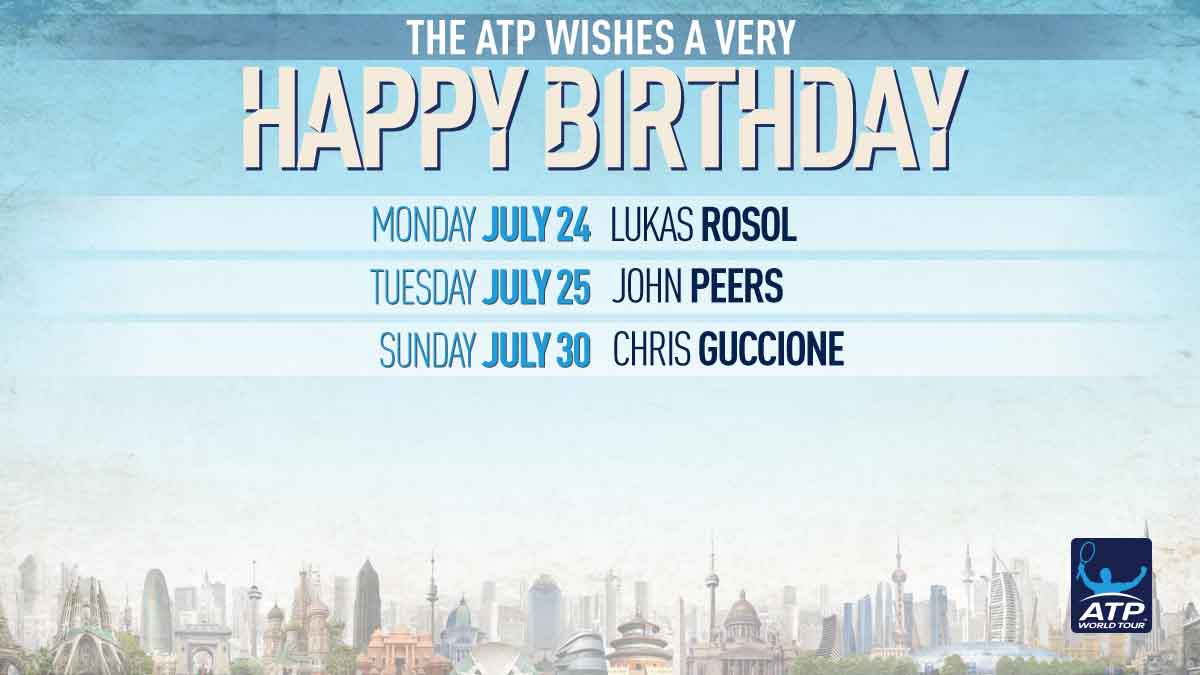 Sending well wishes to all our #ATP ��s celebrating birthdays this week! �� https://t.co/sqZGVfpcGj https://t.co/KlgnHbGjmc