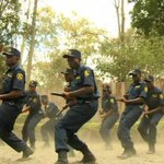 Police, prison officers conduct anti-riot drill in Nyanza