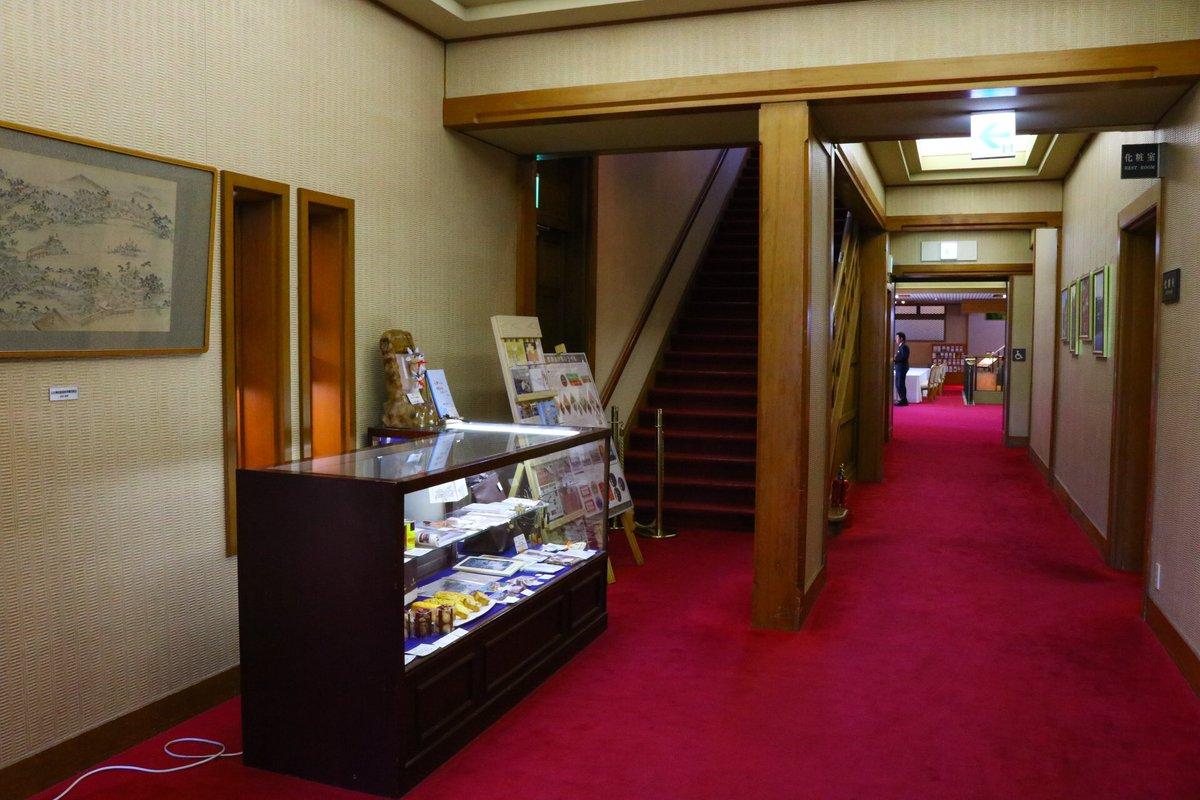 奈良ホテルにてファン交流ノートが設置されておりますこの場所は、ちょうど境界の彼方 円盤2巻のジャケット絵の場所なので、訪