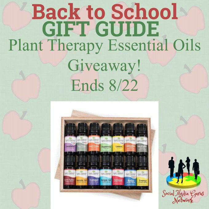 Plant Therapy Essential Oils Starter Kit #Giveaway