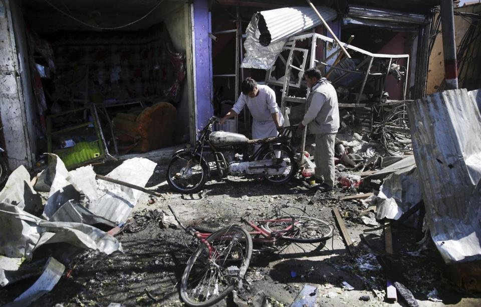 Suicide bombing in Kabul kills at least 24