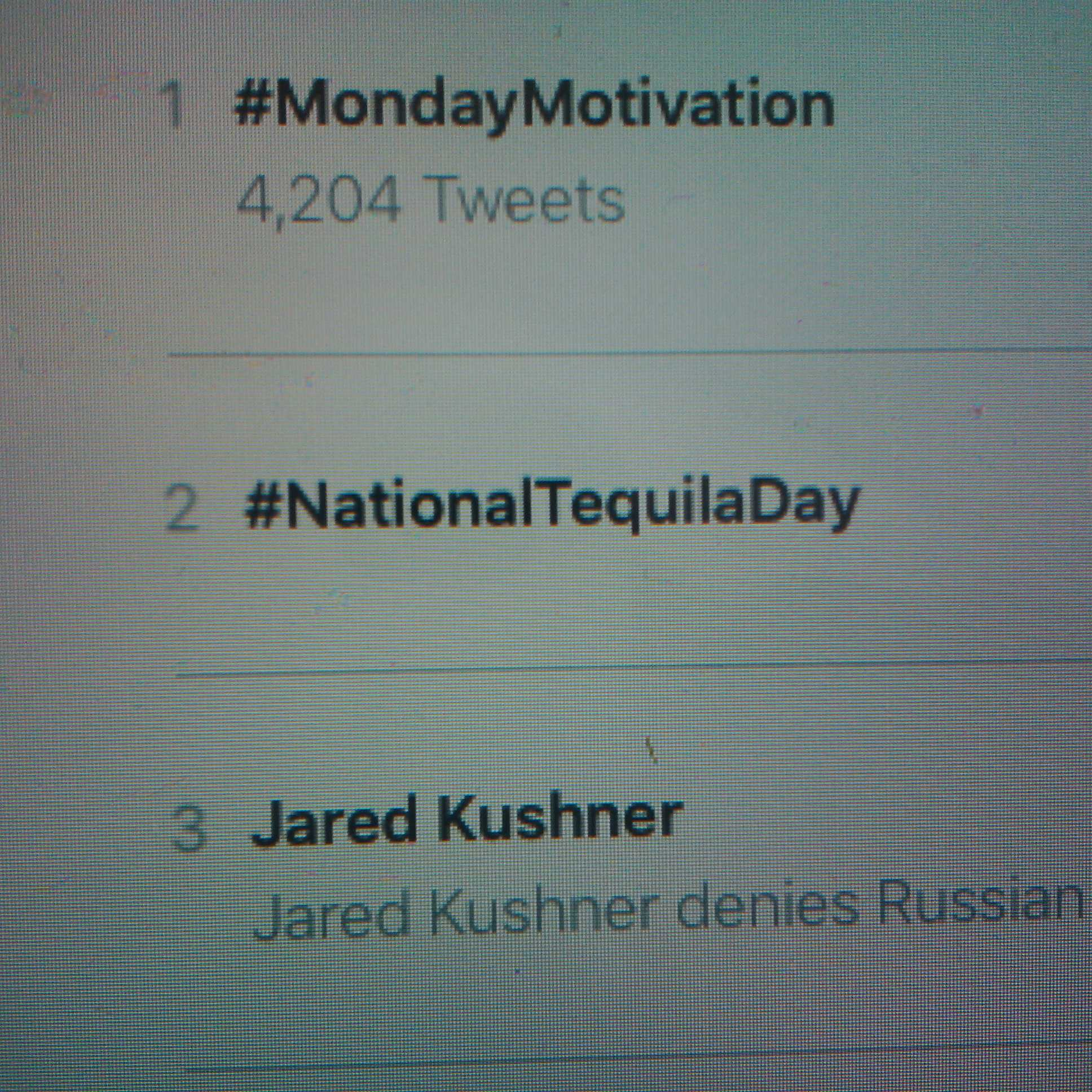 The UK has now a #NationalTequilaDay! And it's trending in 2nd place! Happy #NationalTequilaDay, amigos in UK! https://t.co/EfrretICYY