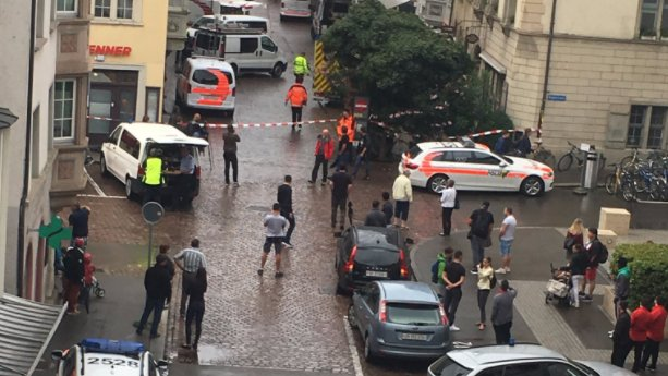 Multiple people injured in chainsaw attack in Switzerland