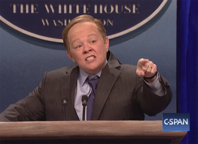 "Fans mourn Melissa McCarthy's ""Saturday Night Live"" impersonation of Sean Spicer"