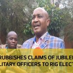 Mwiti rubbishes claims of Jubilee using military officers to rig elections