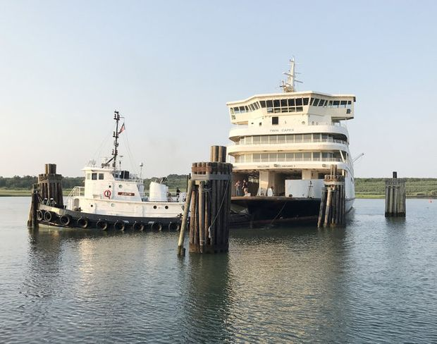 No more people or cars, just fish for Cape May ferry vessel