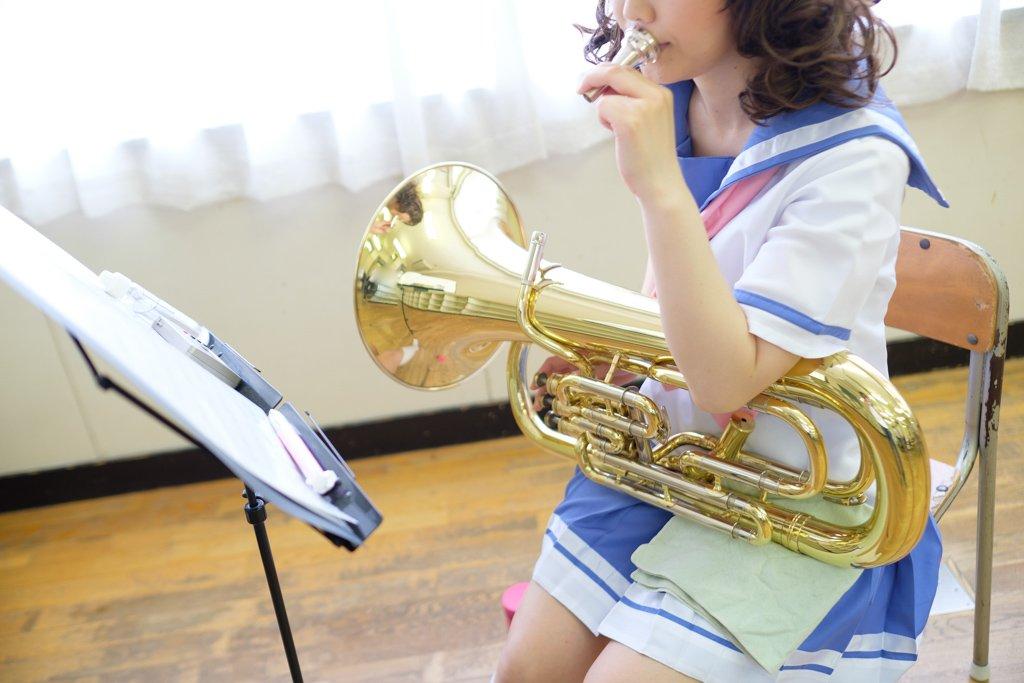 「練習中」響け!ユーフォニアム黄前久美子
