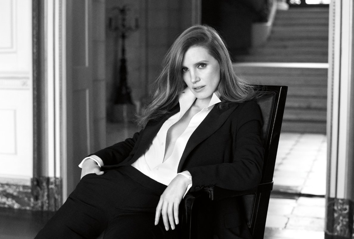 Introducing the face of Woman by Ralph Lauren, #JessicaChastain. https://t.co/DhJVNk14WE