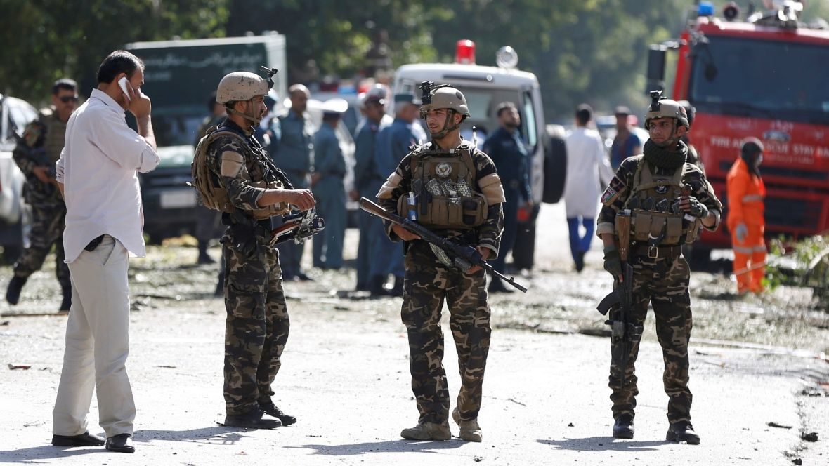 UPDATE: Government officials raise death toll in Kabul to 35.