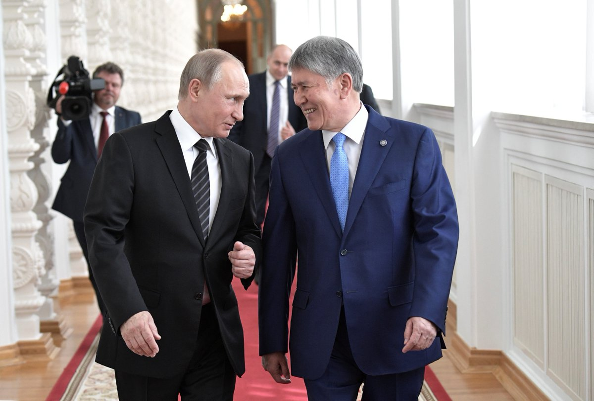 Russian military ally Kyrgyzstan ditched its U.S. base after a missile strike threat