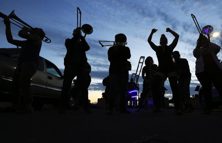 Seattle's renegade marching band; here's what it takes to join