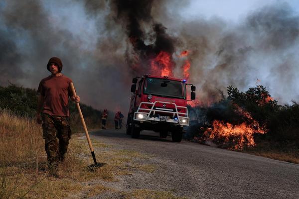Nieuwe bosbranden in Portugal
