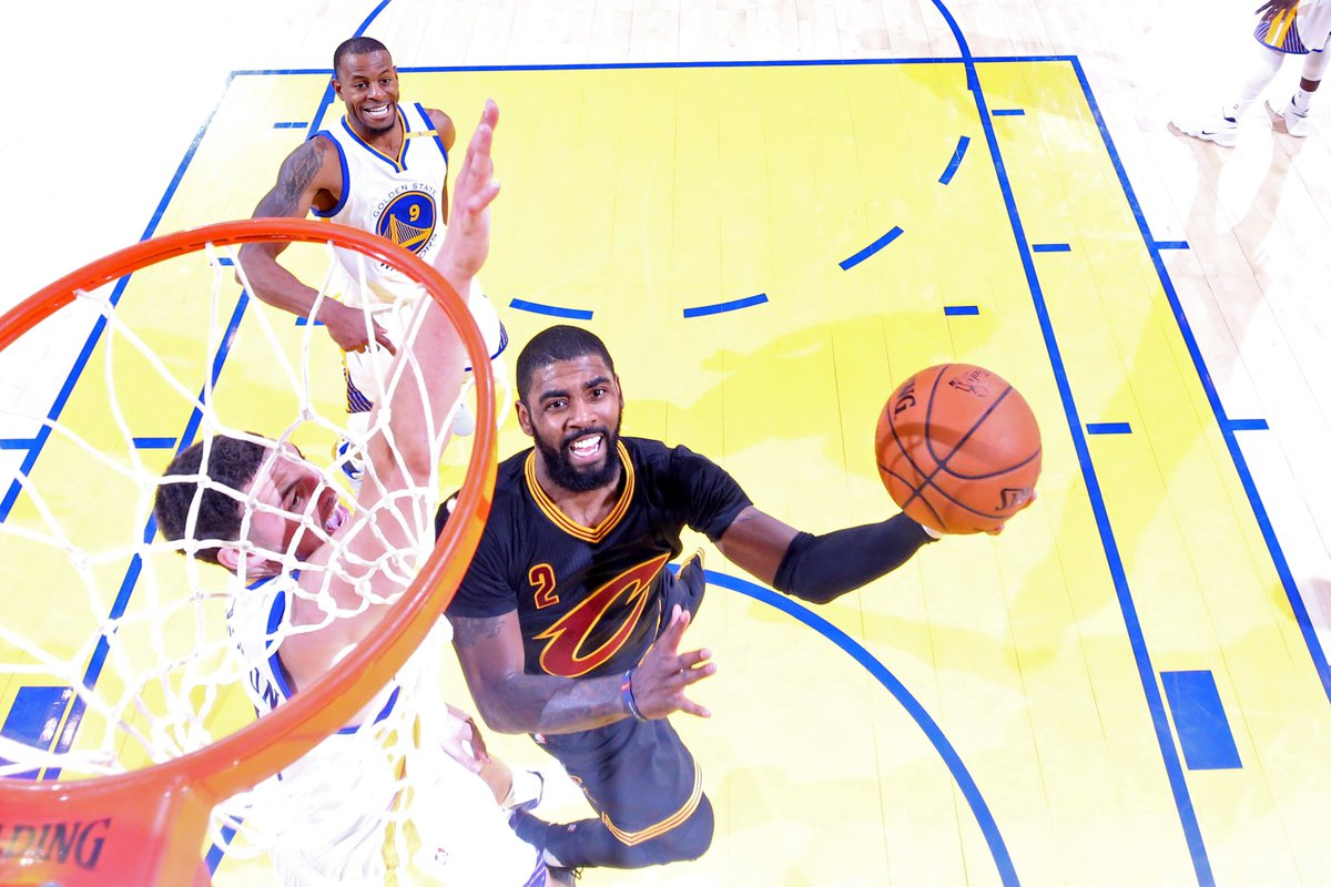 NBA rumors are all about where Kyrie Irving is going to take his talents