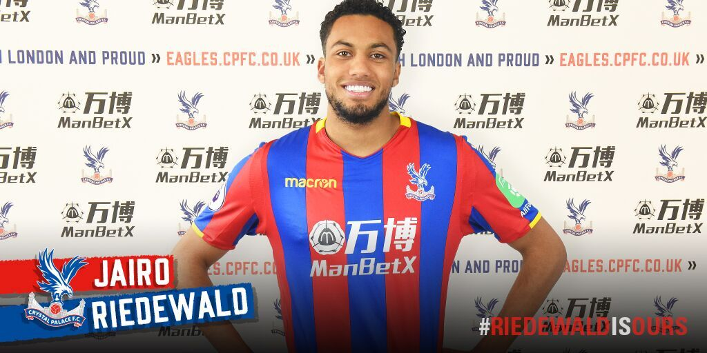 Crystal Palace have officially signed FM Wonder-Kid Jairo Riedewald!