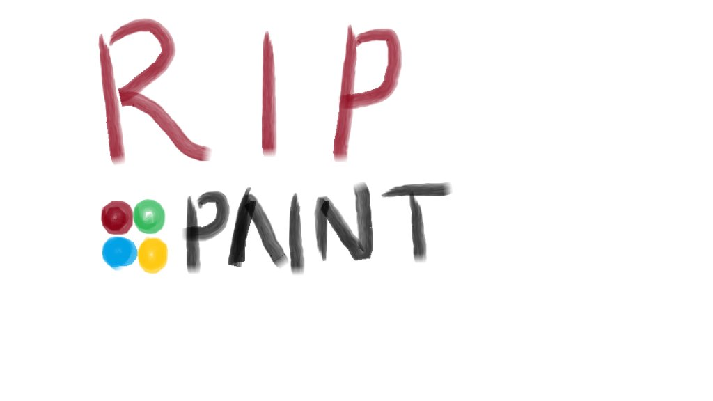 Microsoft Might Kill Off Paint in Future Windows 10 Releases