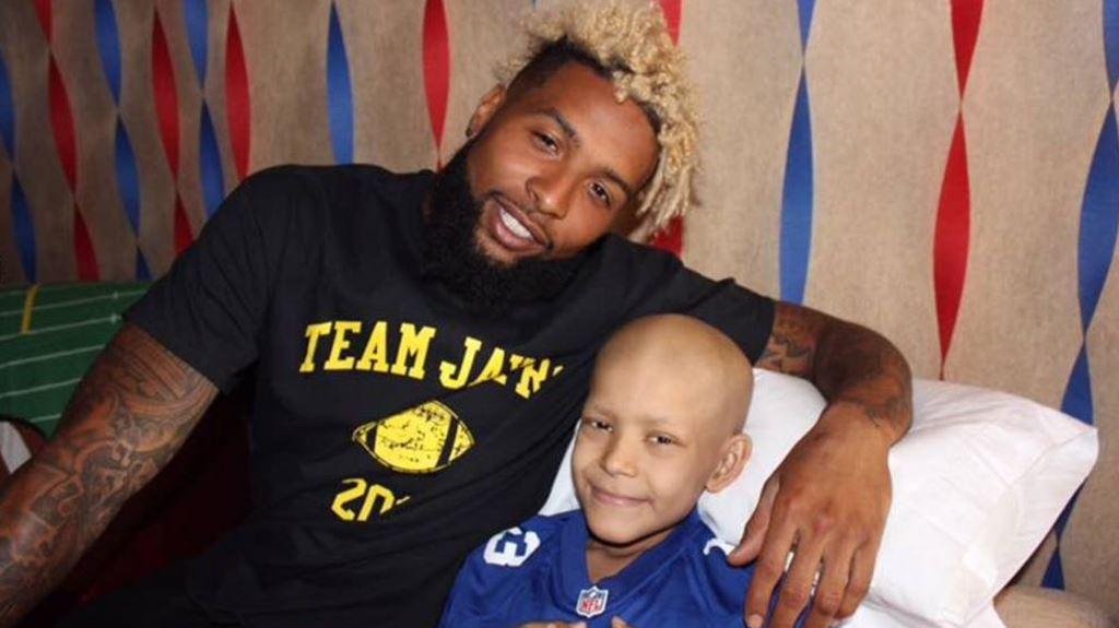 Odell Beckham Jr. wastes no time granting wish of boy battling cancer
