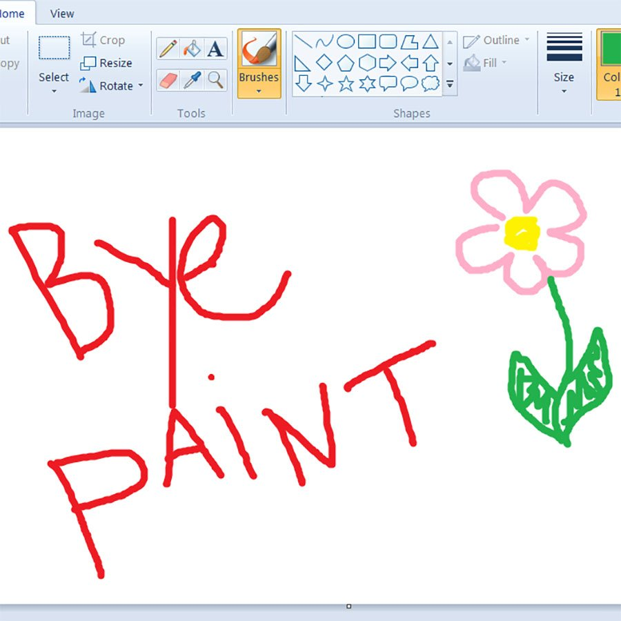 RIP MS Paint Microsoft signals end of beloved drawing app