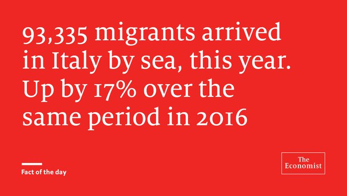 @TheEconomist: Economic reasons bring them to the shores of Europe https://t.co/uhU2dTc2Oo https://t.co/8Mk2qqTBCU