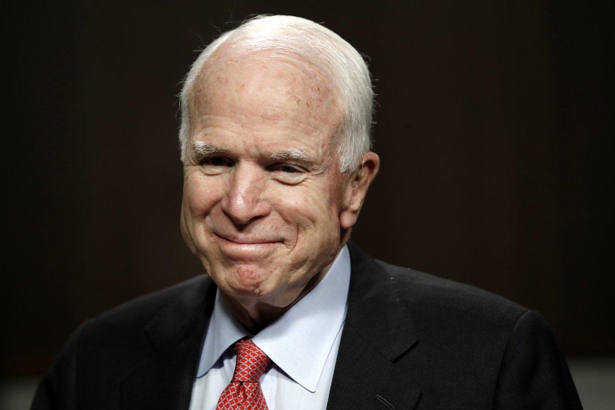 John McCain making dramatic Senate return for crucial health care vote