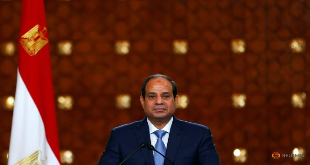 Egypt's Sisi vows to keep up Qatar blockade