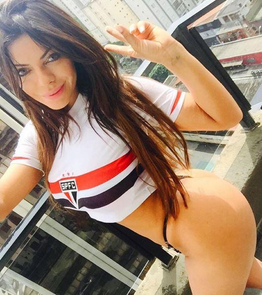 RT @portaldaband: GALERIA - Miss Bumbum mostra amor pelo São Paulo https://t.co/L3VJ32kYZr https://t.co/Sz1y4DaEqX