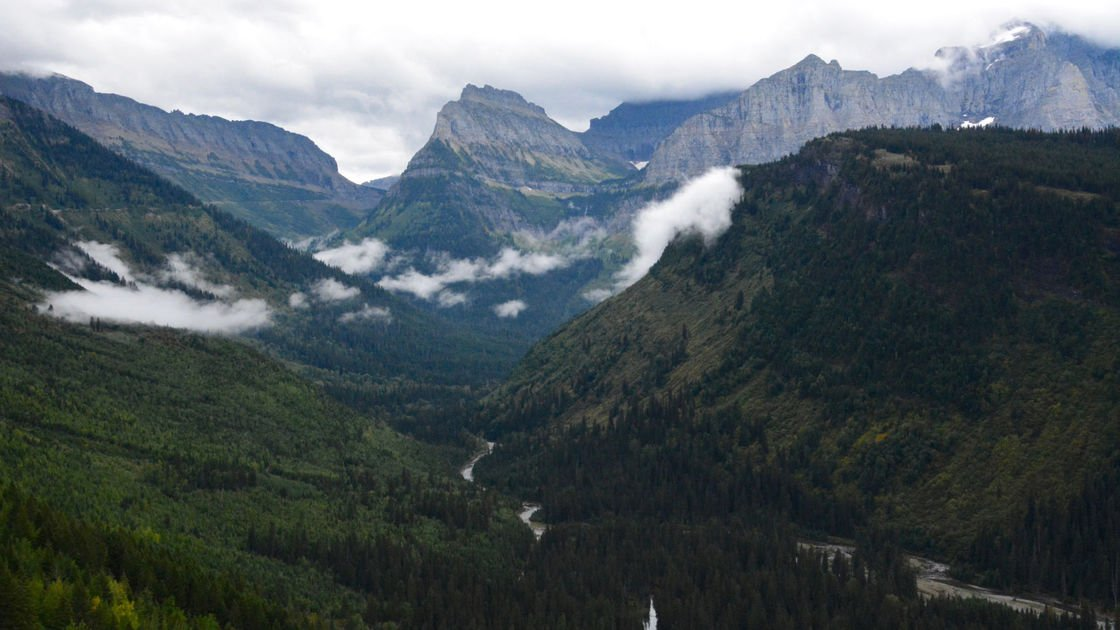 Montana man dies after 100-foot fall in Glacier National Park