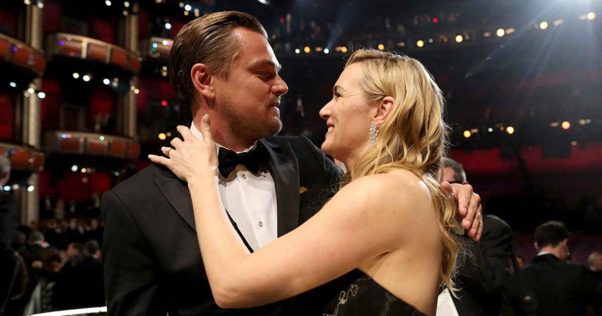Leonardo DiCaprio and Kate Winslet Reunite -- to Auction Off a Dinner with Themselves for Charity