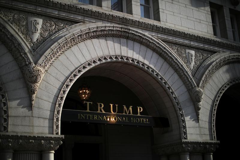 Congressman proposes ban on Trump hotels use by U.S. government