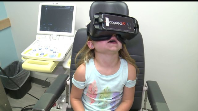 Virtual Reality Takes Young Patients' Minds Off MedicalProcedures
