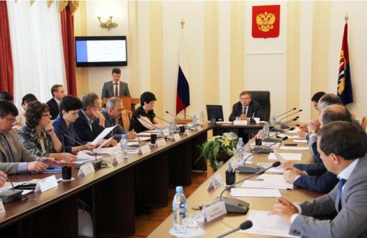 По организации выездных форм работы обсуждались на заседании регионального правительства 7 октября