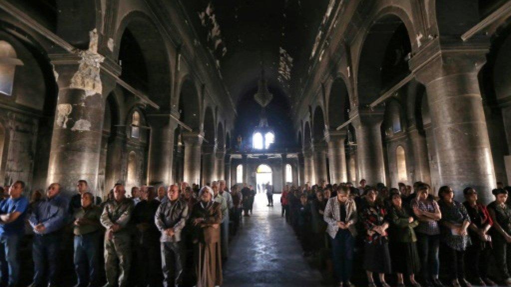 Cardinal hails 'rebirth' of Iraqi Christian town
