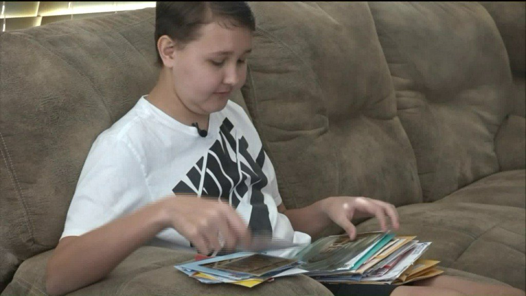 Mom's wish for letters from around the world for Wentzville boy battlingcancer