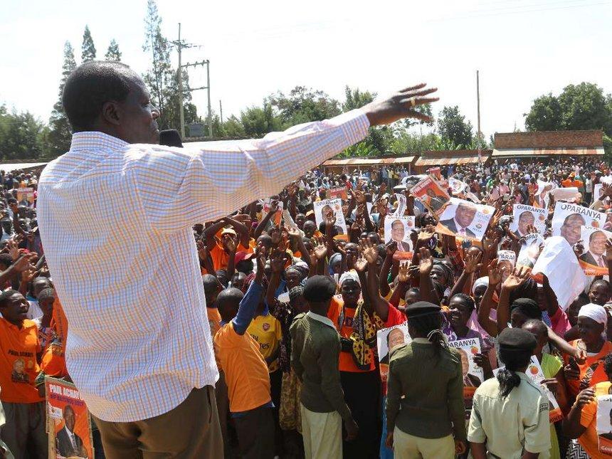 NASA leaders plan to hold Raila 'hostage'