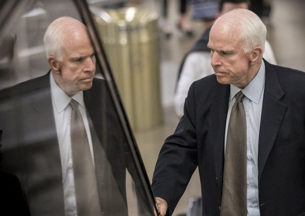 Sen. John McCain to return for health care vote just days after brain cancer diagnosis