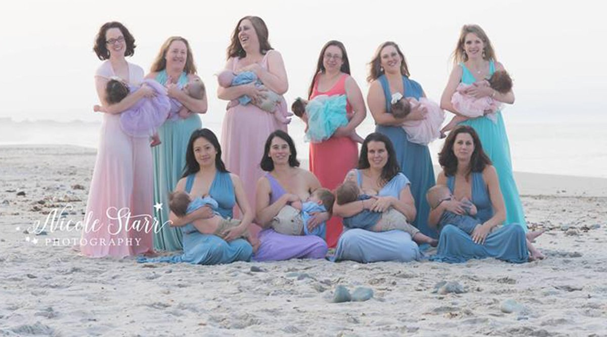 This Breastfeeding Photo Shoot Is Shattering Stereotypes