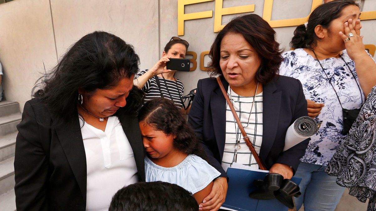 Religious leaders protest L.A. pastor's detention during a routine ICE appointment