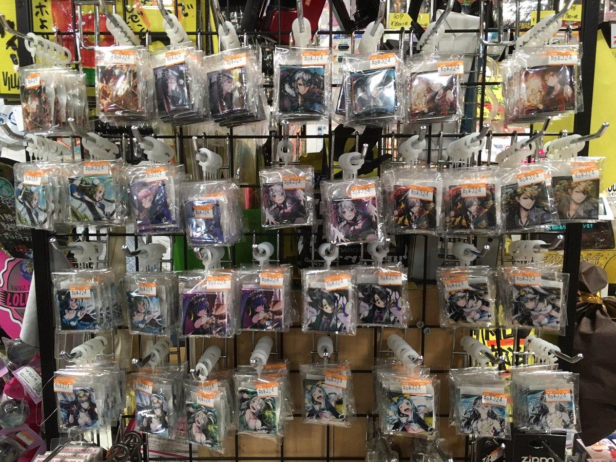 7月24日からディバインゲートの缶バッチが発売しています!缶バッチを1つ以上+2000円以上で特典ポスターが3種類の中か