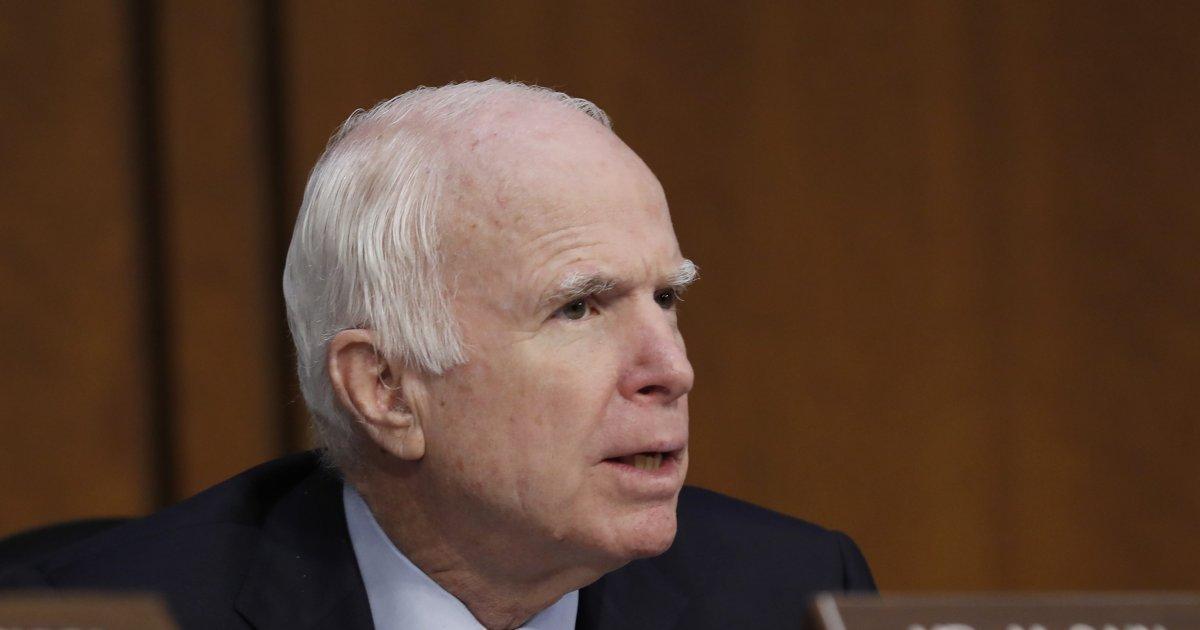 Sen. John McCain to return to D.C. to vote on health care despite brain cancerbattle