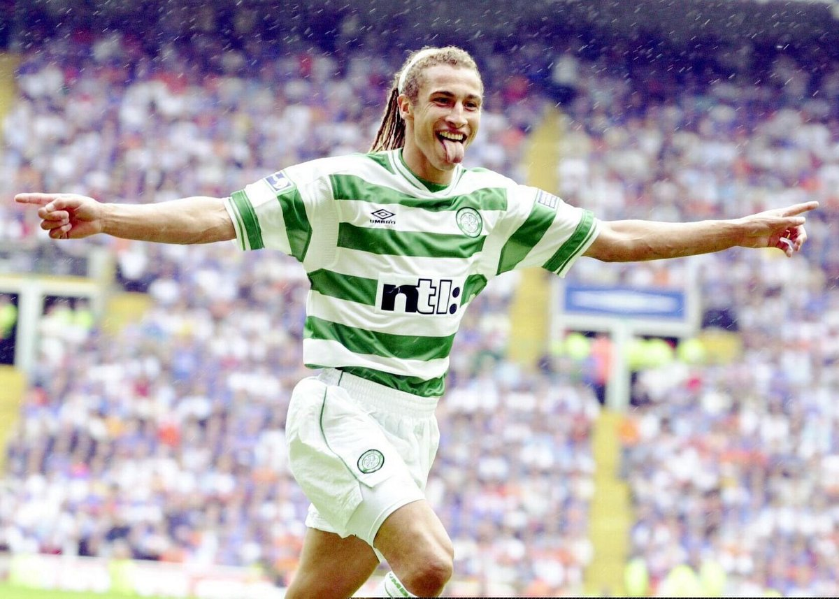 On this day in 1997, Henrik Larsson signed for Celtic 👅☘️