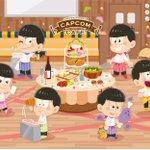 【カプコンカフェ】カプコンカフェが深刻な人員不足!?スタッフの採用募集をしたところ、集まったのはなんと松野家の6つ子!?