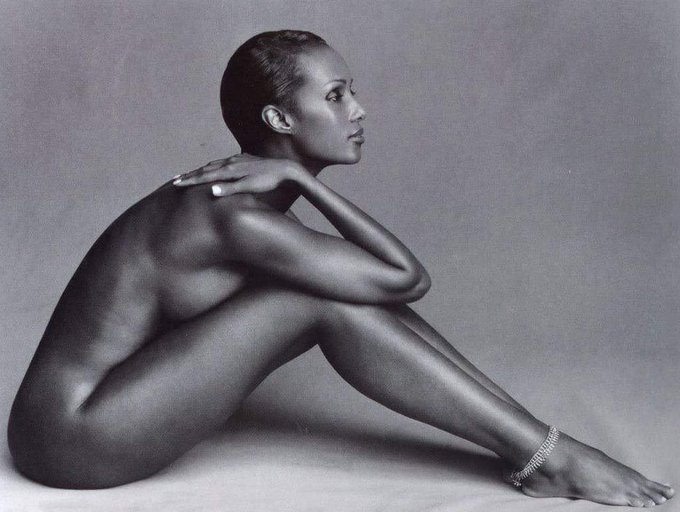 Birthday  Iman by Herb Ritts
