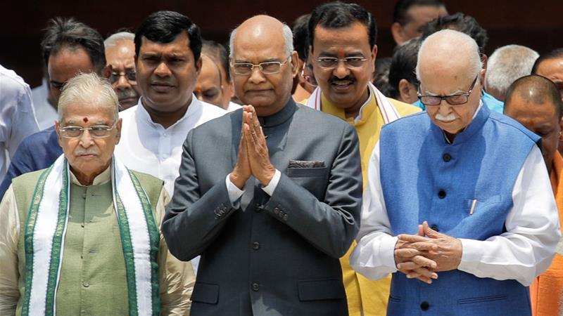 India's PresidentKovind says he will use his position to improve the situation of Dalits