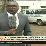 Fear of cholera outbreak at Kodiaga Maximum Prison