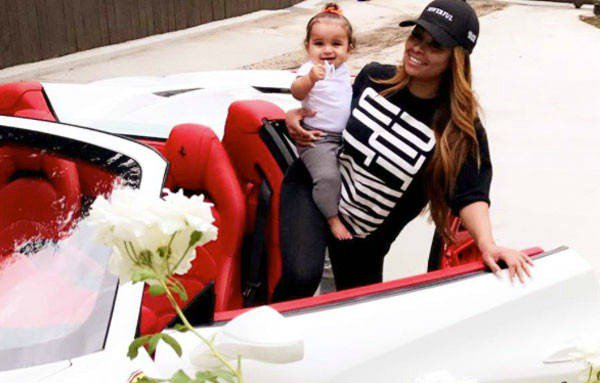 Blac Chyna got herself a new Ferrari Spider after returning cars to Rob Kardashian: